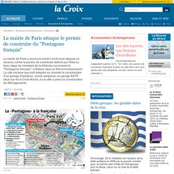 2012 Bras de fer mairie de Paris / Pentagone français
