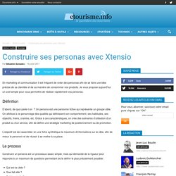Construire ses personas avec Xtensio