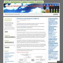 Construire un script d'appel avec FreeMind 1/4 « Guide du néophyte pour la prospection de clientèle