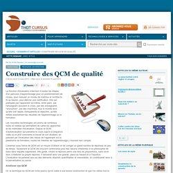 Construire des QCM de qualité