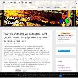 Khartis: construisez vos cartes facilement grâce à l'atelier cartographie de Sciences Po en ligne ou hors ligne