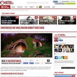 Construisez une vraie maison hobbit pour 3400€