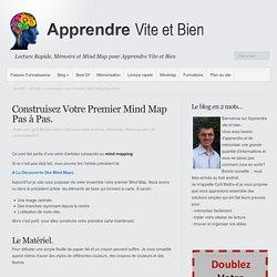 Construisez Votre Premier Mind Map Pas à Pas.