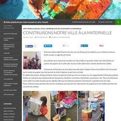 Artiste plasticienne intervenant en arts visuels