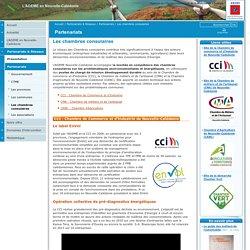 Les chambres consulaires / Partenariats / Partenariats & Réseaux / L'ADEME en Nouvelle-Calédonie