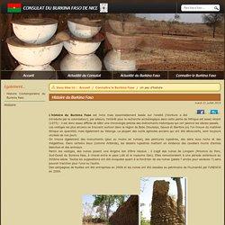 Consulat du Burkina Faso de Nice - Histoire du Burkina Faso