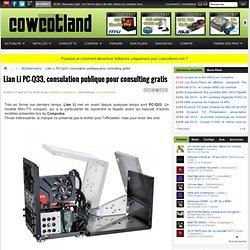 Lian Li PC-Q33, consulation publique pour consulting gratis - Boîtiers/racks