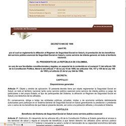 Decreto 806 de 1998
