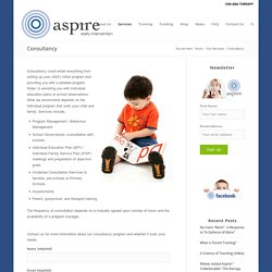 Aspire Early Intervention