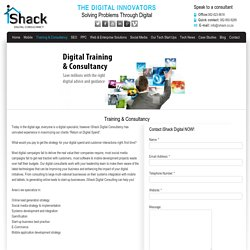 SEO Consultancy and Training in Johannesburg