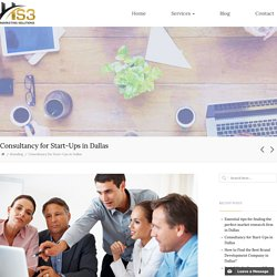 Leading Consultancy for Start ups in Dallas - HS3 Marketing Solutions