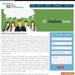 SEO consultancy Services - Professional SEO Consultant in Bangalore
