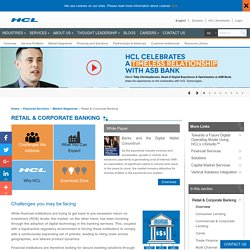 Finest Retail and Corporate Banking Services by HCL Technologies