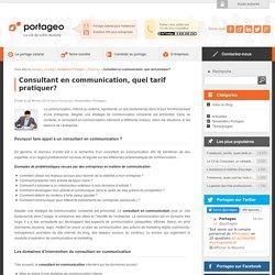 Consultant en communication, quel tarif pratiquer? - Portageo