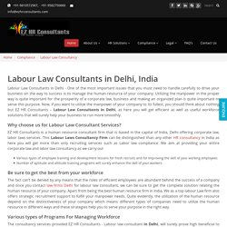 aHire Labour Law Consultants to Utilize the Manpower in the Proper Way