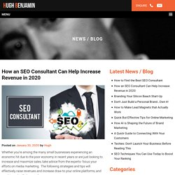 How an SEO Consultant Can Help Increase Revenue in 2020