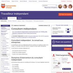Consultant indépendant : le métier de consultant indépendant