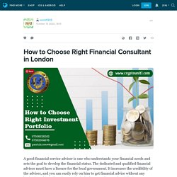 How to Choose the Right Investment Portfolio in London