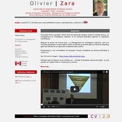 Olivier Zara - Consultant en management & médias sociaux - Montréal Quebec Canada