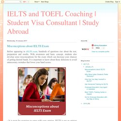 Misconceptions about IELTS Exam
