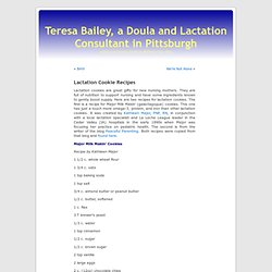Teresa Bailey, a Doula and Lactation Consultant in Pittsburgh