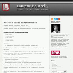 ? consultant r?f?rencement : Laurent Bourrelly