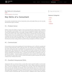 Key Skills of a Consultant – Schulich Consulting Club