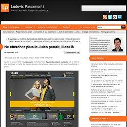 Ne cherchez plus le Jules parfait, il est là : Consultant web et Expert e-commerce - Ludovic Passamonti