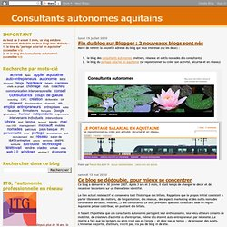 Consultants autonomes aquitains