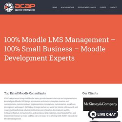 Moodle Development Consultant Company in USA