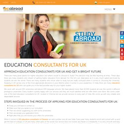 Education Consultants for UK