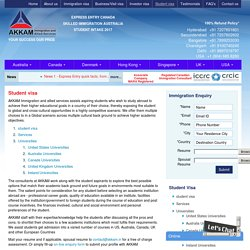 Student Visa Overseas Education Consultants