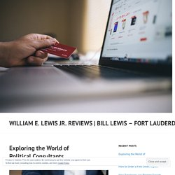 Exploring the World of Political Consultants – William E. Lewis Jr. Reviews