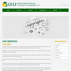 Copyright Consultants in Oman