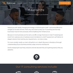 IT Consulting Services Business