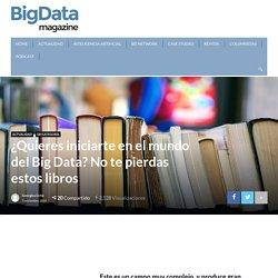 Libros que consultar para comenzar a formarte en el mundo del Big Data