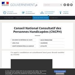 Conseil National Consultatif des Personnes Handicapées (CNCPH)