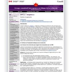 Le Groupe consultatif interagences en éthique de la recherche (GER)