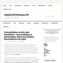 Consultation écrite des membres : une pratique à généraliser dans les petites associations loi 1901