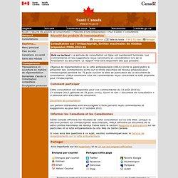 SANTE CANADA 13/08/13 Consultation sur l'imidaclopride, limites maximales de résidus proposées PMRL2013-61