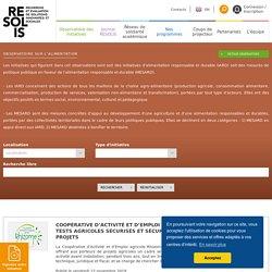 Resolis - Consultation d'une base d'initiatives sociales libre et gratuite