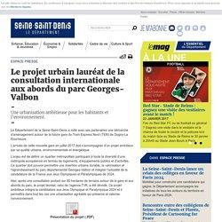 Le projet urbain de l'agence TVK lauréat de la consultation internationale aux abords du parc Georges-Valbon