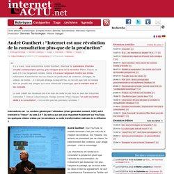 """André Gunthert : """"Internet est une révolution de la consultation"""