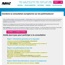 Inondons la consultation de l'UE sur les pollinisateurs!