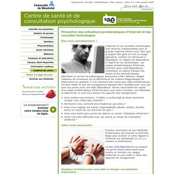 Centre de santé et de consultation psychologique - SAÉ UdeM