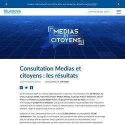 Consultation Medias et citoyens: les résultats