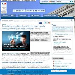Consultation sur un label de qualité pour promouvoir la médiation numérique dans les territoires