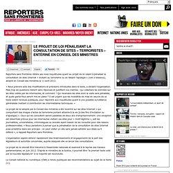 Risque de surveillance en ligne généralisée au nom de la lutte contre le terrorisme