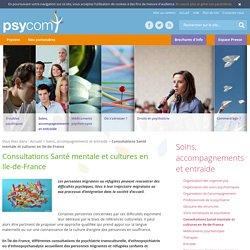 Consultations Santé mentale et cultures en Ile-de-France - Soins, accompagnements et entraide