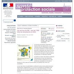 Les services de PMI : plus de 5 000 sites de consultations en